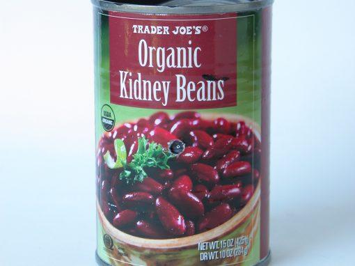 #557 Trader Joe's Organic Kidney Beans #6