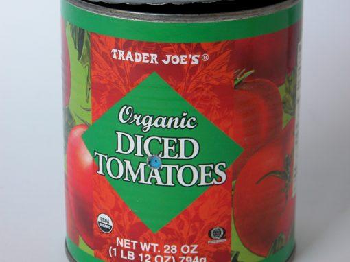 #568 Trader Joes Organic Tomatoes #5