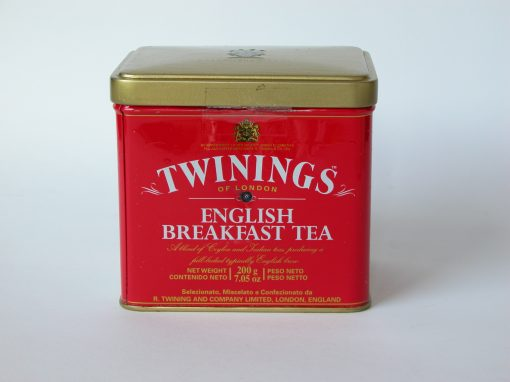 #589 Twinning's English Breakfast Tea (red tin)
