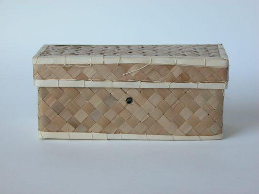 #581 Woven Rectangular Box