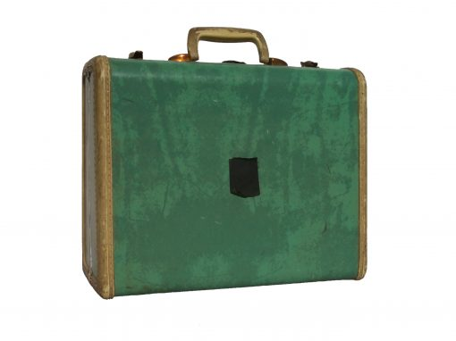 #26 Small, Green Samsonite Suitcase / YMCA, Rochester, NY