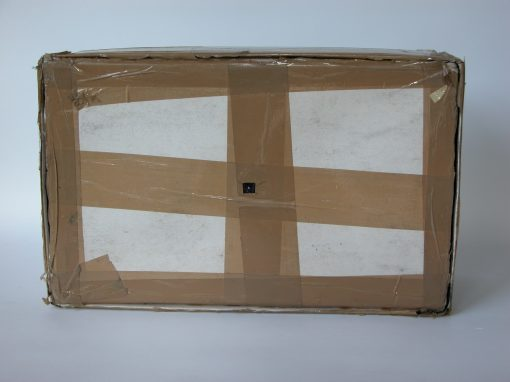 #367 DIA Art Foundation, Cardboard Box w/Tape