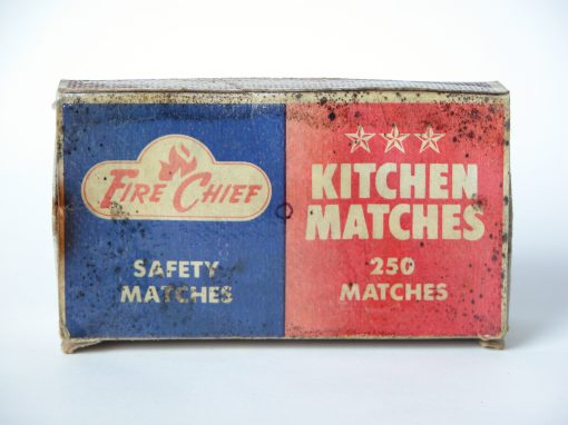 #690 Fire Chief Kitchen Matches