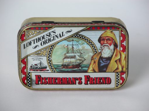 "#727 Fisherman's Friend, 2""x4"" case, (stereo)"