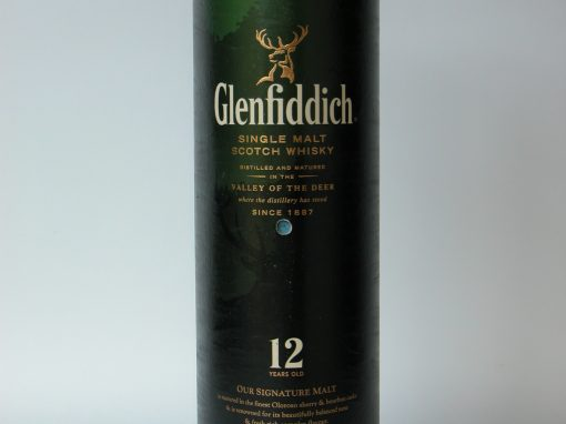 #550 Glenfiddich Single Malt Scotch Whisky (double pinhole: telephoto & wide angle)