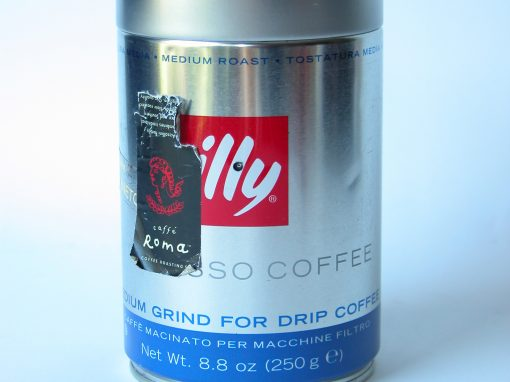 #524 ILLY #3, Medium Grind, Via Veneto
