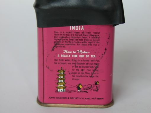 #336 INDIA Tea Tin