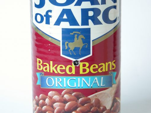 #424 JOAN OF ARC Baked Beans