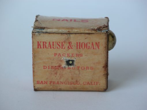 #576 KRAUSE & HOGAN, Packers & Distributers, San Francisco,10cents