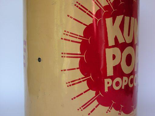 #177 KUMZ POPPED (Metal Popcorn Canister)
