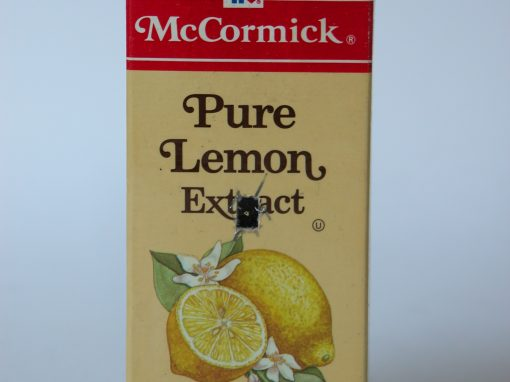#578 McCormick Pure Lemon Extract