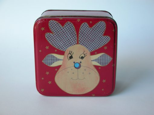 #740 Moose Face Tin