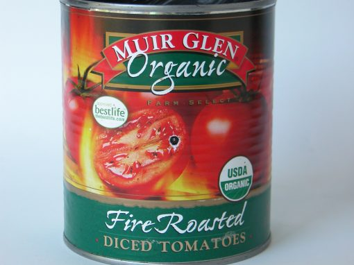 #243 Muir Glen Fire Roasted Sliced Tomatoes #5