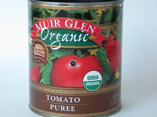 #556 Muir Glen Organic Fire Roasted Tomatoes, #7