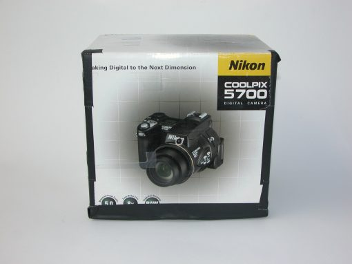 #720 Nikon Digital Camera Box