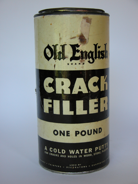 #349 Old English CRACK FILLER