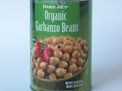 #224 Organic Garbanzo Beans #1
