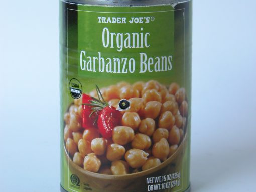#225 Organic Garbanzo Beans #2
