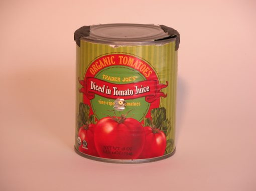 #326 Organic Tomatoes #3 (replaces original lg. can, Ripe Tomatoes)