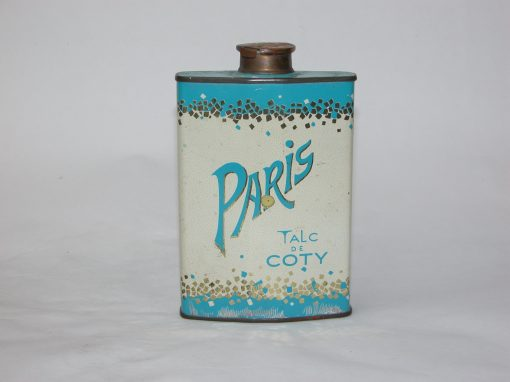 "#440 PARIS Talc DeCoty (replaces original 1.5"" Aluminum Container lost in storage)"