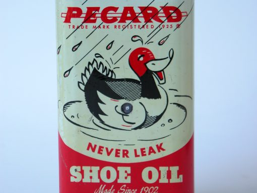 #640 PECARD Never Leak Shoe Oil