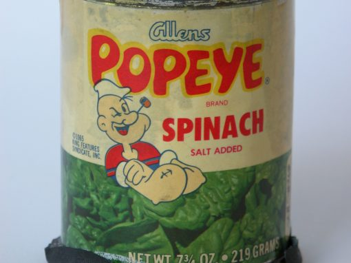 #268 Popeye Spinach (sm. can)