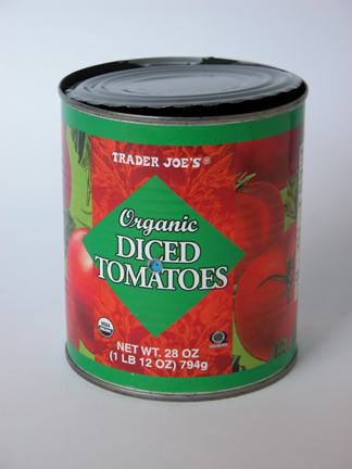 #1068 Organic Diced Tomatoes #7