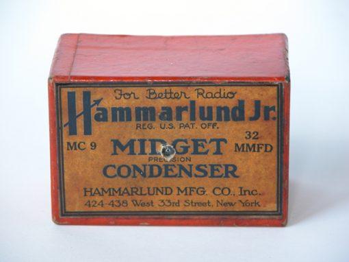 #157 Hammerlund Midget Condenser / Circuit Board