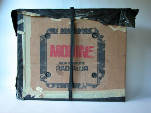#24 MODINE Radiator Box (Carte-de-Visette) / Lena's Luncheonette