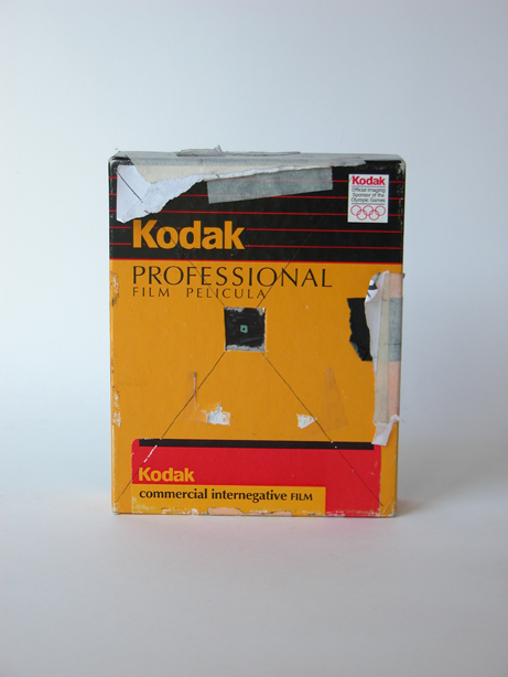#256 Kodak 4×5 Triple-Box #5 / Stuffed Animal