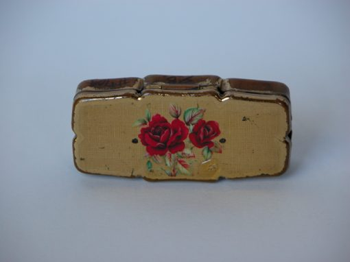 #368 Rose Pill Case (two pinholes)