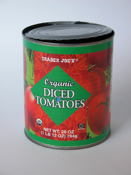 #845 Trader Joe's Organic Diced Tomatoes #6