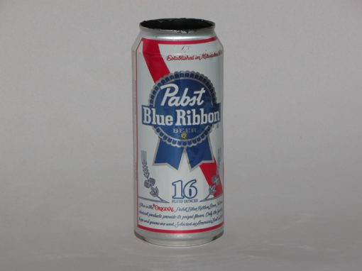#97 Pabst Blue Ribbon,16 oz / Beer Cans