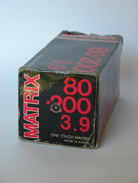 #970 Matrix Macro Lens