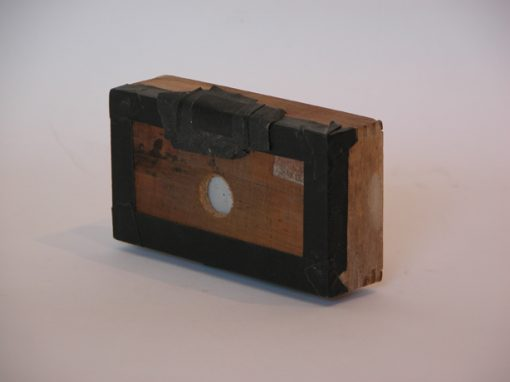 #9 The Photoret (19th C. wooden box) / Thanksgiving Ham with Cloves