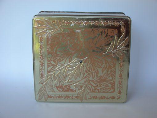 #785 Gold, 8×10 Leafy Tin