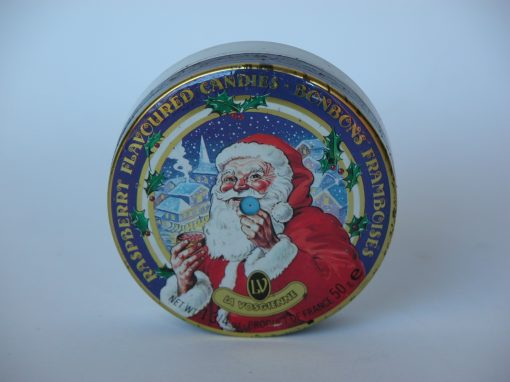 #802 Santa Claus Raspberry Flavored Candies