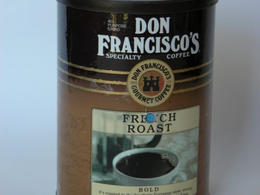 #828 Don Francisco Coffee #1