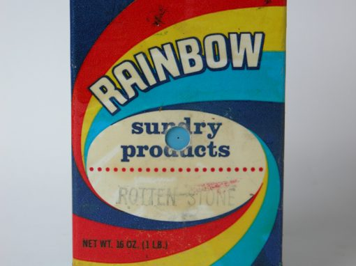 #846 Rainbow Sundry Products, Rotten Stone