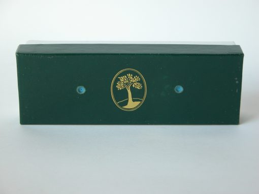 #852 Green Box with Gold Tree Logo (stereo)