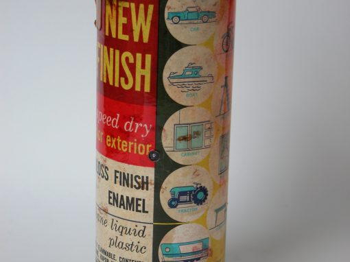 #912 New Finish Gloss Enamel, Red