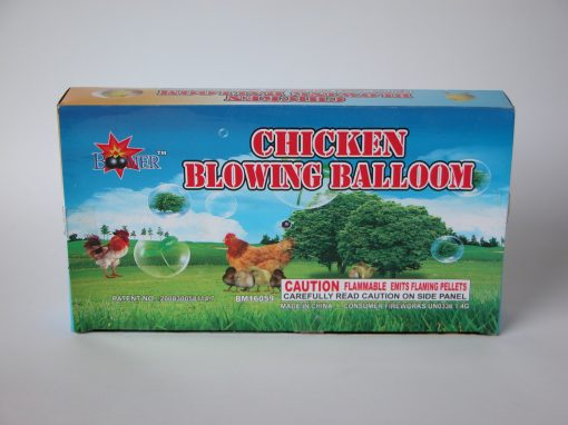 #924 Chicken Blowing Balloon