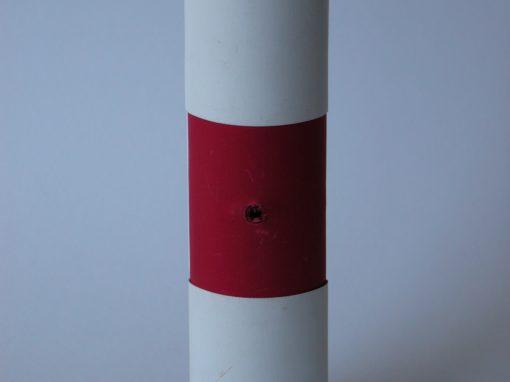 #930 Red & White Jewelry Box