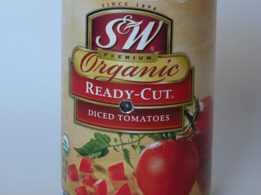 #963 S&W Organic Diced Tomatoes #13