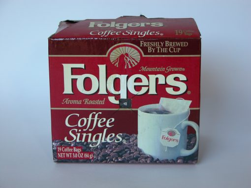 #93 Folger's Instant Coffee / 3 Cups of Instant Coffee