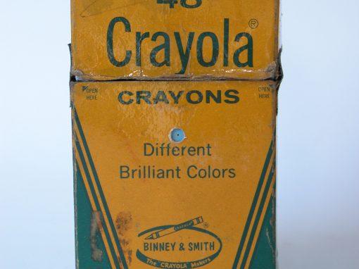 #588 48 Crayola CRAYONS