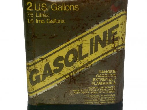 #90 Gasoline Can / Abandoned Gas Station