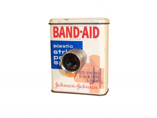 #10 Band Aid Box / Self Portrait w/Band Aid