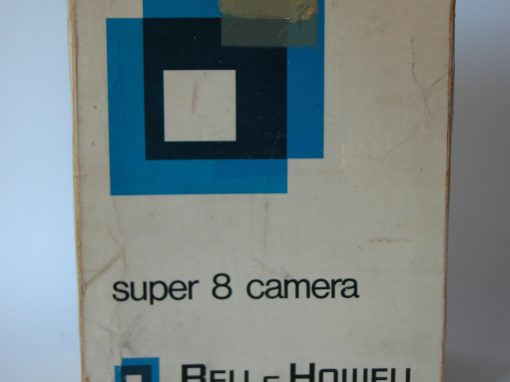 #732 Bell & Howell Movie Camera