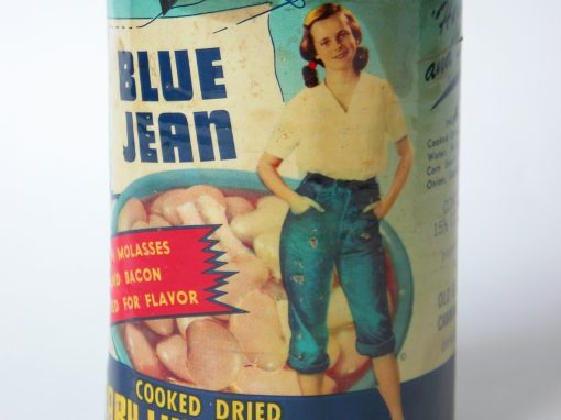 #167 Blue Jean Baby Lima Beans